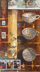 Decending Cups - 18 x 11
