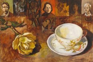 Poets' Breakfast - 8 x 12