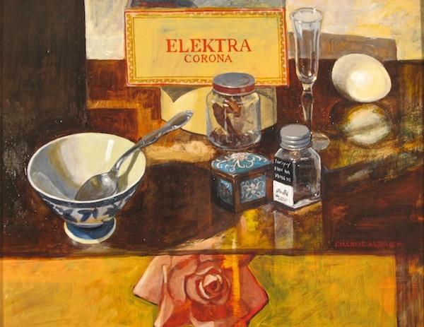 Elektra Corona 11x14 acrylic