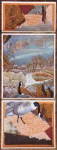 Autumn Geese - 25 x 9