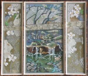 Blossoms Pool - 17 x 19